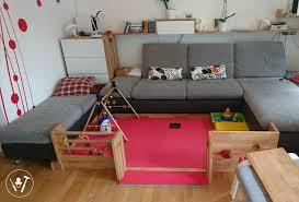 baby spielwelt im wohnzimmer ersatz für laufstall