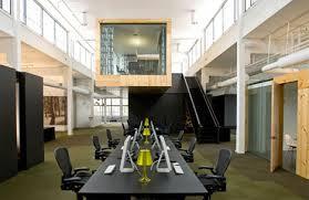 Creative fice Interior Design When Metal Meets Wood