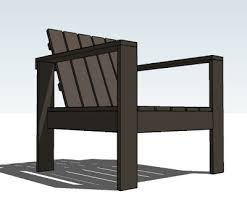 Plans For Wooden Outdoor Furniture by Ana White Simple Outdoor Lounge Chair Diy Projects
