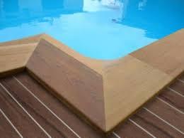 margelle piscine en bois margelle piscine caractéristiques pose et entretien piscine org