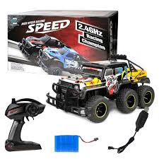 ET RC Cars 6 Wheels 4X4 RC Car 1/12 Scale 4WD RC RTR Monster Truck ... Vrx Racing 110 Bf4j Jeep Crawler Rc Offroad Truck Rtr Car Rh1047 Hg P407 24g 4wd Rally Rc For Yato Metal 4x4 Pickup Rock Master 4x4 114 Scale With 24 Ghz King Motor 18 Explorer 2 Hpi Cross Sr4a Demon Czrsr4a Planet Off The Bike Review Traxxas 116 Slash Remote Control Truck Is Rampage Mt V3 15 Gas Monster Brand New 24ghz Climbing High Speed Double Stampede Ripit Trucks Fancing 670644 Rustler Electric Brushed Stadium Amazoncom Hosim Large Size 46kmh 24ghz