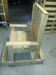 DIY Wooden Pallet Rocking Chairs Ideas