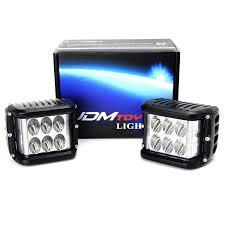 100 Strobe Light For Trucks Amazoncom IJDMTOY 2 White LED Pod Lamps WAmber Side