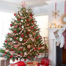 Decorating Christmas Tree With Ribbon Ideas Deco