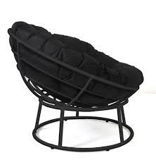 Walmart Papasan Chair Cushion by Chairs Mainstays Folding Papasan Chair Navy Walmart Com Chairs