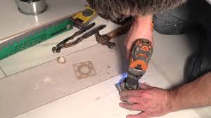 Drilling Small Holes In Porcelain Tile how to cut round holes in porcelain ceramic tiles youtube