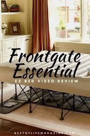 frontgate ez bed inflatable bed review and video the best of