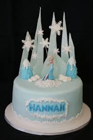 Elsa Frozen Birthday Cake Fondant Cake