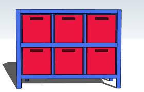 ana white 6 cube bookshelf diy projects