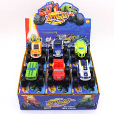 100 Big Truck Toys READY STOCK6 Style Flame And Machine Monsters Slide Big Truck Toys Birthday Gift
