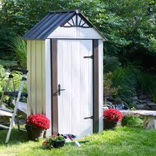 Arrow Galvanized Steel Storage Shed by Arrow Shed Designer Series 4 X 2 Ft Metro Shed Walmart Com