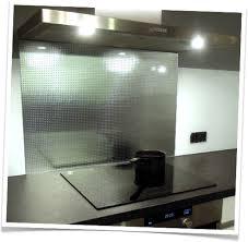 credence cuisine en verre credence de cuisine en verre trempe master carré argenté