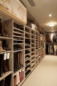 boot storage with flush mount ceiling light closet transitional