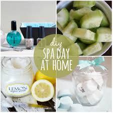 Diy At Home Spa Day Idea