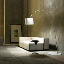 White Design Tall Floor Lamps Benefits Of Halogen Torchiere Lamp