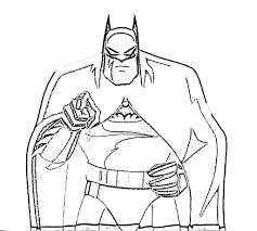 Batman Coloring Pages Online Free Kids Coloring