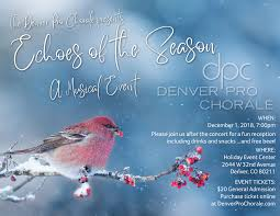 100 4 Season Denver Echoes Of The Pro Chorale