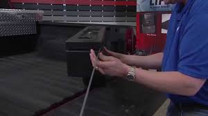 Dee Zee Tech Tips: Poly Plastic Wheel Well Tool Box Installation ...