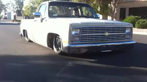 Air Bagged 1985 Chevy C10 Truck Dragging On The Body - Built By WCD ... 6500 Shop Truck 1967 Chevrolet C10 1965 Stepside Pickup Restoration Franktown Chevy C Amazoncom Maisto Harleydavidson Custom 1964 1972 V100s Rtr 110 4wd Electric Red By C10robert F Lmc Life Builds Custom Pickup For Sema Black Pearl Gets Some Love Slammed C10 Youtube Astonishing And Muscle 1985 2 Door Real Exotic Rc V100 S Dudeiwantthatcom