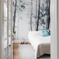 a s création fototapete vlies foto tapete wald watercolour forest dd119144 baum designwalls kaufen otto