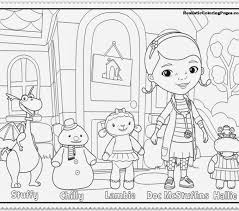 Doc Mcstuffins Coloring Pages To Print 39125 Coloringpagefree Online