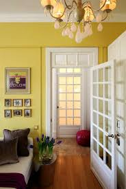 Small Apartment Ideas Light Yellow Wall Paint And White Decorating