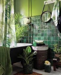 Bathroom Decorating Accessories And Ideas Houseplants In Beautiful Bathroom Decorating