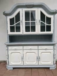 buffet vitrine alt antik landhausstil esszimmerschrank