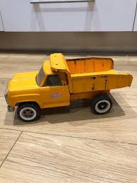 Vintage Large Tonka Dump Truck Lorry #2315 | In Broughty Ferry ... Tonka Ride On Mighty Dump Truck For Kids Youtube Tonka Trucks Coupons Ikea Coupon Codes October 2018 Large Truck Yellow Truck Deals Passion Toyota Made A Reallife And Its Blowing Our Childlike Vintage S Huge Bell System Ardiafm 5 Vintage Trucks Lowboy W Ramps Cement Crane Bull Dozer My Friend Has An Almost Full Set Of Original Metal His Cstruction Toys For Kids In Action At The Beach Big Bangshiftcom Mighty Ford F750 Steel Classics Dump By Fleet Farm 1970s Toy Metal