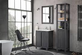 badezimmer spiegel 60x80cm klassik antik grau