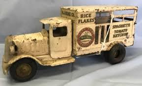 1930's Pressed Steel Metalcraft Heinz Truck