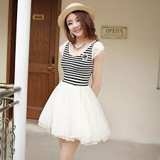Image Of Beautiful White Summer Dresses For Juniors