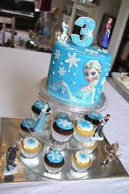 Frozen Elsa Cake And Cupcakes CakeCentral
