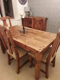 Mexican Pine Wooden Dining Table And Chairs | In Penwortham, Lancashire |  Gumtree Mexican Pine Ding Table And Chairs Kimteriors Property Rentals On The Beach Luna Encantada C2 Tableware Wikipedia China Outdoor Fniture Nice Hall Loft Style Restaurant Stock Photo Edit 6 Chairs In De21 Derby For Kitchen Design Ideas Trum House Interior Before You Buy A Chair Room Set Indoor Indonesia Project Catering Singapore Cheat Your Way Through Party
