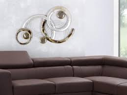 formano wand deko design kreise iv aus metall breite