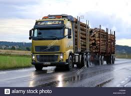 SALO, FINLAND - SEPTEMBER 4, 2015: Yellow Volvo FH16 Logging Truck ... Volvo Vn Vnl Vnm Headlights Shows Off Its Supertruck Achieves 88 Freight Efficiency Boost 100 800 Truck For Sale 2015 S60 Reviews And Lvo Fh 2012 V2204r 128 Truck Mod Euro Simulator 2 Mods And Accsories For Page 1 Uatparts 19962015 19962003 Bixenon Hid Salo Finland September 4 Yellow Fh16 Logging Truck Headlamp Kit V40 Deep Space Lighting Led Lights Trucks Led Headlight Semi