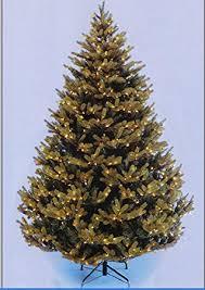 Christmas Tree Amazonca by 8 5 U0027 Canadian Balsam Fir Pe Pre Lit Artificial Christmas Tree
