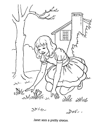 Bible Coloring Pages With Lessons
