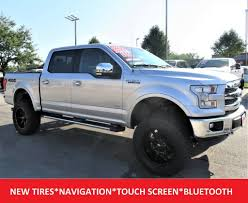 100 4x4 Truck Rims 2017 Used Ford F 150 Lariat Crew Cab 20 Fuel New 35 Tires