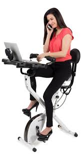 Recumbent Bike Desk Chair by Best Exercise Desks Fitdesk