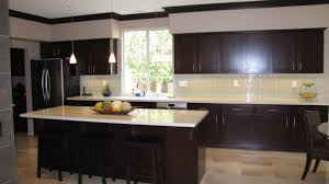 Creative Of Espresso Kitchen Cabinets On House Decorating Concept Attractive Kitchens With Within 19