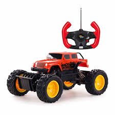 100 Monster Truck Remote Control Rastar Red Crawler Car