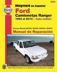 100 1994 Mazda Truck Ford Camionetas Ranger Y Serie B Haynes Manual De Reparacin