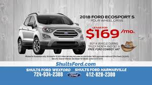 100 Ford Truck Lease Deals A 208 EcoSport For Just 169 A Month YouTube
