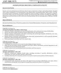 Resume Sample Human Resource Director