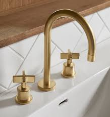Polished Brass Bathroom Faucet 8 by Source List Modern Gold And Brass Fixtures For The Bathroom
