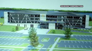 100 Oshkosh Truck Corp Unveils Design For New Corporate Headquarters