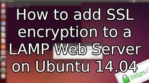 Install Lamp Ubuntu 1404 Aws by Tutorial How To Add Ssl To A Lamp Web Server On Ubuntu 14 04