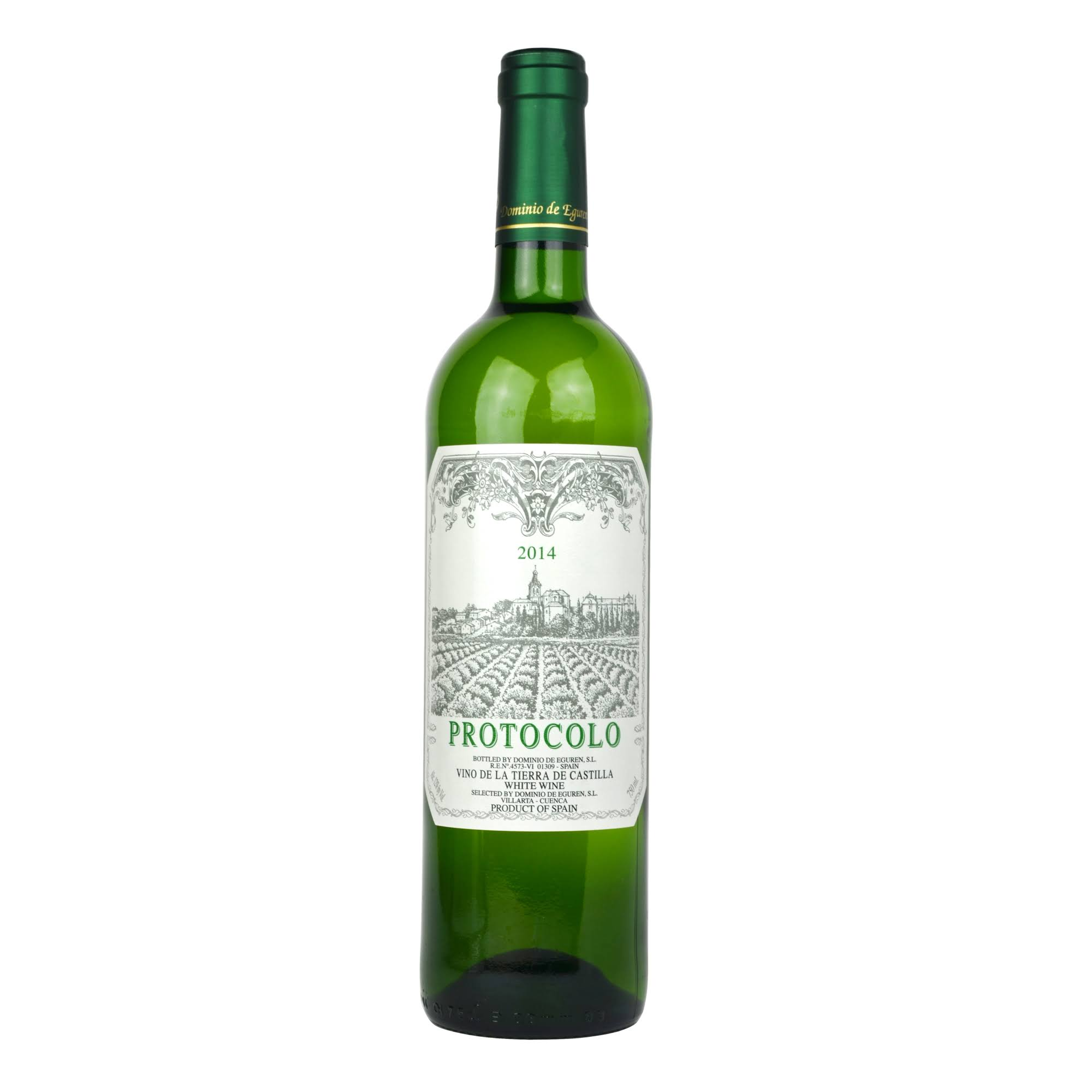 Protocolo Blanco 2016 White Wine from Spain - 750ml