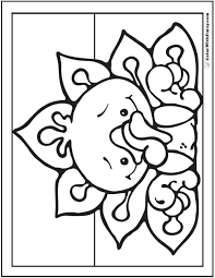 Turkey Chick Coloring Page Baby